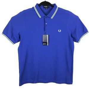Fred Perry Short Sleeve M3600 Twin Tipped Polo L